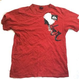 Men's Graphic t shirt by Quiksilver size medium